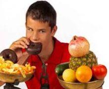 تغذیه در دوران نوجوانی